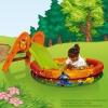 Toboggan Winnie slide with pscine and balls