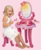 Barbie beauty center with accessories