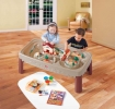 Deluxe Action Train Table with Lid