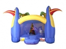 JUNGLE FUN BOUNCY CASTLE