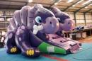 Inflatable slide Dino