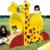 Giraffe Plastic Tunnel