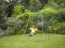 Metal Single Swing Set