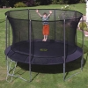 TP 10ft Genius Round SurroundSafe Trampoline