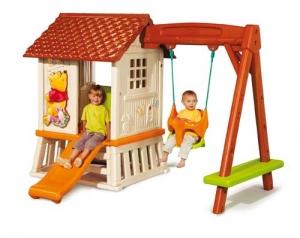 Swing with playhouse WINNIE Step2 Πλαστικά Παιχνίδια