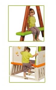 Swing with playhouse WINNIE - Step2 Πλαστικά Παιχνίδια