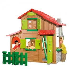 Two storey house Step2 Πλαστικά Παιχνίδια