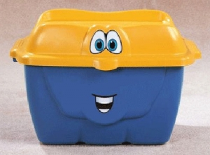 "Storage Box ""Happy Totes"" Step2 Πλαστικά Παιχνίδια"