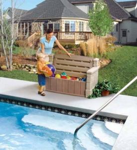 Outdoor Storage Bench  - Step2 Πλαστικά Παιχνίδια