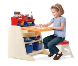 Flip & Doodle Easel Desk Step2 Πλαστικά Παιχνίδια