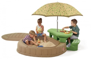 Naturally Playful Summertime Play Center Step2 Πλαστικά Παιχνίδια