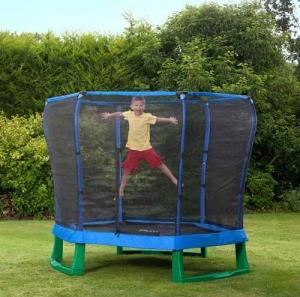 7ft Junior Jumper Trampoline and Enclosure Step2 Πλαστικά Παιχνίδια