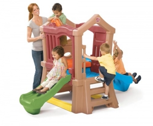 Play Up™ Double Slide Climber  - Step2 Πλαστικά Παιχνίδια