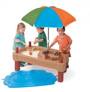 Play Up™ Adjustable Sand & Water Table Step2 Πλαστικά Παιχνίδια