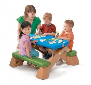 Play Up Fun Fold Picnic Table Step2 Πλαστικά Παιχνίδια