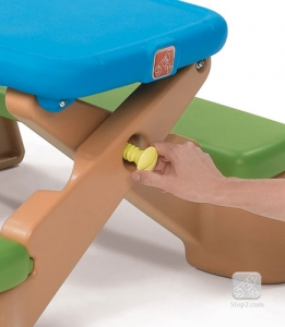 Play Up Fun Fold Picnic Table - Step2 Πλαστικά Παιχνίδια