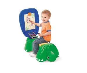 Sit & Doodle Turtle Desk Step2 Πλαστικά Παιχνίδια