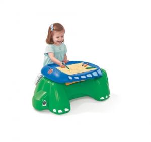 Sit & Doodle Turtle Desk - Step2 Πλαστικά Παιχνίδια
