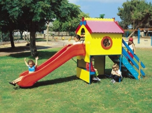 Colorful Plastic Playhouse Step2 Πλαστικά Παιχνίδια