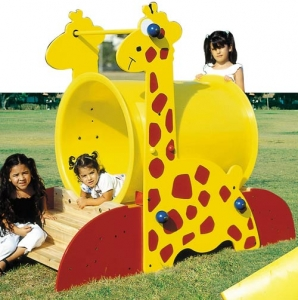 Giraffe Plastic Tunnel Step2 Πλαστικά Παιχνίδια