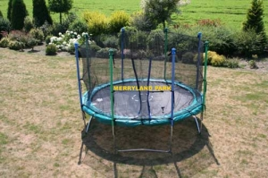 "Trampoline ""Jumb and Fly"" with net"