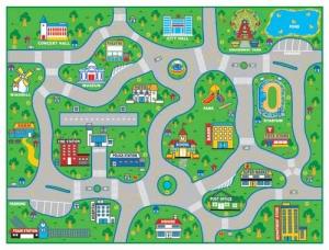 City Map Carpet Step2 Πλαστικά Παιχνίδια