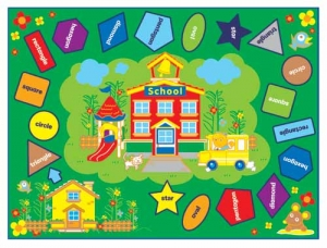 Colors & Shapes Carpet Step2 Πλαστικά Παιχνίδια