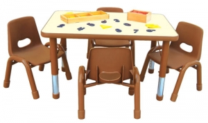 Rectangular Table 4C Step2 Πλαστικά Παιχνίδια