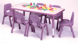Rectangular Table 6C Step2 Πλαστικά Παιχνίδια