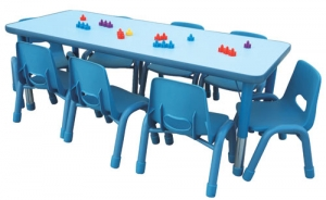 Rectangular Table 8C Step2 Πλαστικά Παιχνίδια